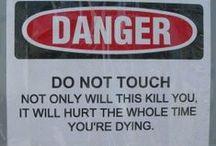 LOL / I take no responsibility for what I find humorous! / by Darlene Lourenco