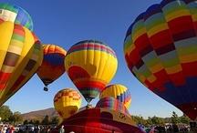 Full of Hot Air... / Hot air balloons / by Linda Aarhus