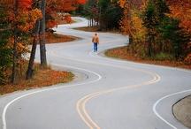 Roads, Rails, Trails, Paths / by Julia DeVries