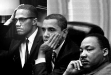 Malcolm X and Martin / Images of Malcolm, Martin, Betty, Rosa and other Freedom Fighters.