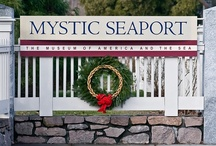 2012 Holiday Countdown  / 25 photos in 25 days to give you a picture perfect holiday. We're counting down to December 25th with some of our favorite seasonal photos of Museum grounds... Happy holidays from Mystic Seaport! / by Mystic Seaport