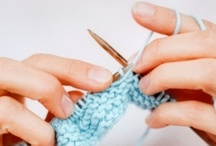 Knitting and crochet / by Hell