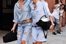 Denim lover / It's all about denim #jeans / by Fashionismo