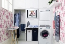 Cheery Tree Below / Sweet and efficient ideas for basements, laundry rooms, and storage spaces