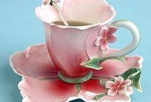 Time for Tea... / Fabulous teacups! / by Linda Aarhus