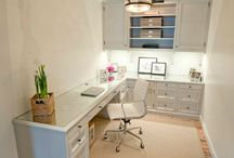 Offices & Craft Rooms / by Midori Dobson