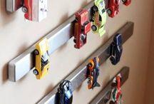 Ordnung im Kinderzimmer / Ordnungs-, Einrichtungs- und Aufräumideen für Kindersachen. Gekauft und Selbstgemacht.