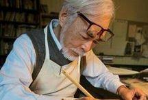 ★Hayao Miyazaki ★ / Su mente, su arte, sus películas, su mundo!