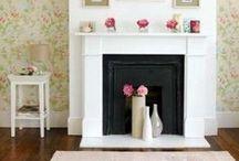 Fireplace / by Christa {BrownSugarToast}