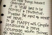 Wise Words / by Brittny Petersen