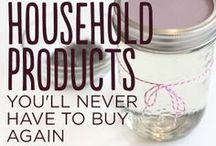 Homemade products / by Jennie Dean