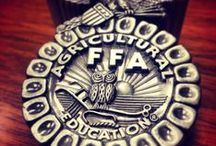 FFA  / Sharing all things FFA.   FFA makes a positive difference in the lives of students by developing their potential for premier leadership, personal growth and career success through agricultural education. / by National FFA Organization