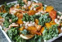 Vegatarian & Seafood dishes