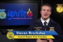 Officer 2 Officer Videos / A video series featuring the National FFA Officer Team talking about topics relevant to current FFA officers and aspiring FFA officers.  #FFAo2o / by National FFA Organization