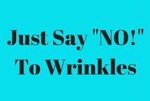 Just Say 'No!' To Wrinkles / Yes! You can reverse aging at the cellular level and 'iron' those wrinkles out! #wrinkleiron #facialspa