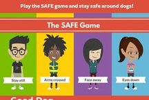 SAFE: Dog Bite Prevention / Techniques for families to learn dog bite prevention. Fun games for kids and the SAFE dog bite prevention program from Good Dog in a Box.
