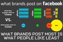 Infographies E-Marketing / La rencontre entre chiffres clés et créativité / by François Groussard