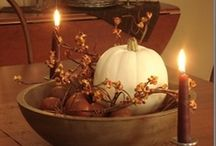 Fall Ideas / Decorations and ideas for my favorite season. / by Becky Pearson