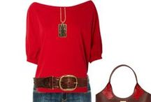 red Outfits,Leopard print..