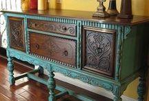 Paint Everything / Repurposing furniture / by Deborah Umbdenstock