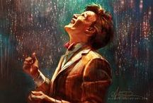 """""""All of time and space"""" / Doctor Who Artwork / by Stephanie Meadows"""