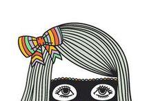 INSPIRE - Illustration / Bold, bright, beautiful, illustrations.
