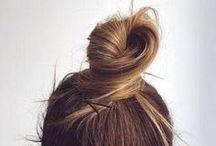 beauty • easy hair / Simple & easy hair styles