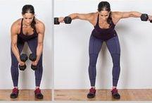 Kettlebell, Dumbbell work outs/ Exercise