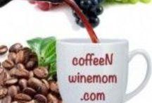 Coffee and wine mom / Stuff for coffeenwinemom.com  / by Carrie Beaird