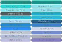 · Color Names ·