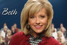 "Beth Moore ✝    / ""...if I die suddenly, my gravestone might appropriately offer this insight into my departure: ""God got tired."" I require lots of work.""~~ Beth Moore, Believing God~~Beth Moore is an author and Bible teacher of best-selling Bible studies and books for women. She is the founder of Living Proof Ministries and speaker at Living Proof Live women's events across the US. Beth's mission is to guide women everywhere into a richer, more fulfilling relationship with the Father. / by Shelley Ginn"