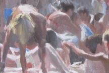 Bagnanti / Beach Paintings / The Bathers: life-style artworks
