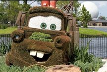 grass sculpture and topiaries / by Joyce Burleson