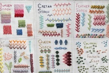 EMBROIDERY / STITCHES / Threads & Ribbons / by Sylvia Maroja