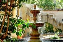 water fountains / by Joyce Burleson