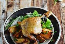 Meaty Stuff I Fancy / by Kimberly {Rhubarb and Honey}