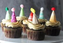 Cakes & Cupcakes I Fancy / by Kimberly {Rhubarb and Honey}