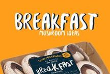 Breakfast Mushrooms / Meadows has selected some of our favourite ideas for breakfast mushrooms from around the world. Mostly for small portabello's but also a few others that were too good to miss!
