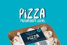 Pizza Mushrooms / Our sliced mushrooms are perfect for pizzas! Need some pizza inspiration, then look no further as we bring you a collection of our favourites from everywhere we spot them...