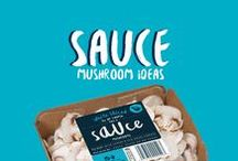 Mushroom Sauces / No our sliced button mushrooms aren't JUST for sauce, but who doesn't love a good mushroom sauce? Here are a few of note we've captured in case you'd like to lift your game #GetInspired