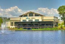 Aqua Grill Sawgrass Village Ponte Vedra Beach  Florida / Serving Eclectic Fare - Coastal Fare