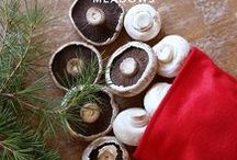 Christmas Mushrooms! / We've picked out some of the best ways to make your Christmas with Christmas mushspirations :)