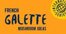 Galette Mushrooms