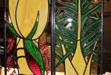 Home decor / Glass art is a great way to enhance any home or office