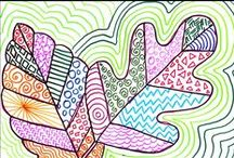 Art: Doodle and draw / Doodling, drawing and inspiradoodle / by Rachel Higgins: Faithfully Mapping