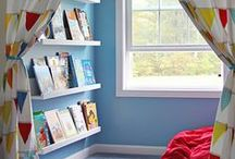 Kids Bedrooms / Let your imagination run wild when planning the decor for your kids' bedrooms