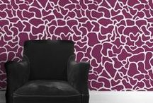 Feature Walls & Furniture / Don't be afraid to make a statement with these bold style choices