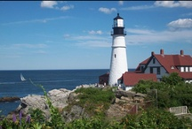 Lighthouses in America and around the world. / I just love lighthouses!!   / by Karen Plennes-Both