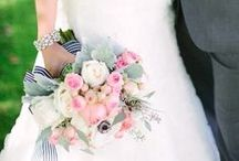 Wedding-Navy, Coral, Silver  / by Janel Smith