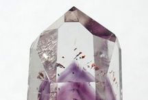 """BIRTHSTONES / """"The February-born shall find Sincerity and peace of mind,  Freedom from passion and from care,  If they an amethyst will wear.""""  -Author Unknown  Learn More about the Amethyst on the blog ➳"""